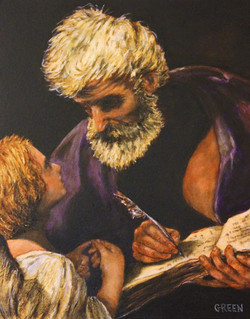 St. Mathew with Angel