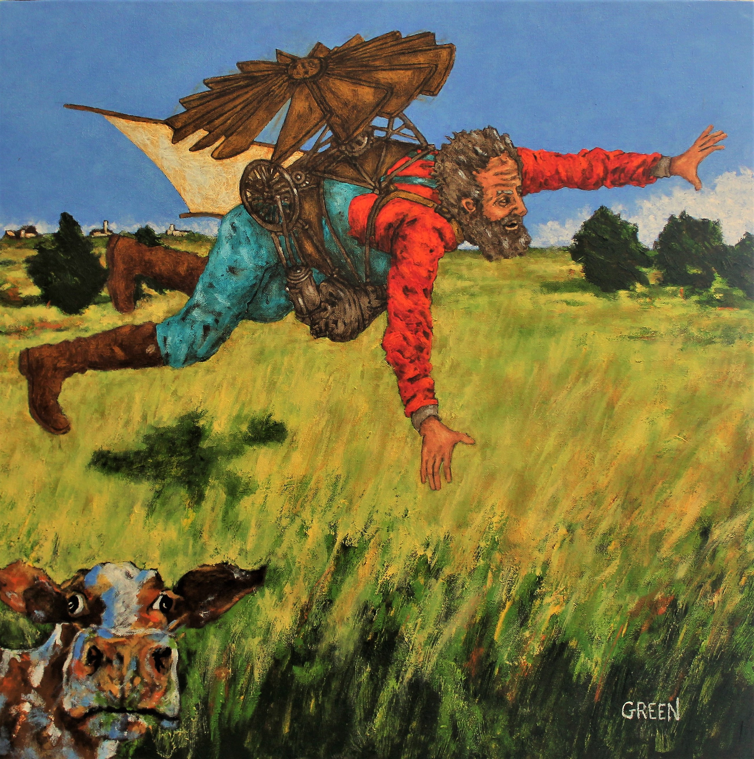 D.B Henning's Flight over the Prairie