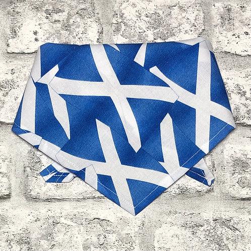 Scottish Flags Dog Bandana