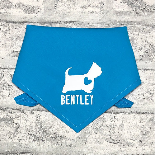 Personalised West Highland White Terrier