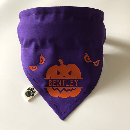 Personalised Pumpkin Bandana