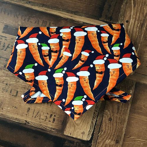 Carrots in Santa Hats