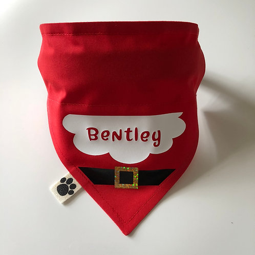 Father Christmas Personalised Bandana