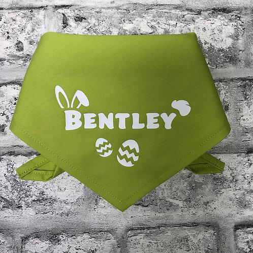 Personalised Easter Bunny Bandana
