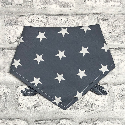 2cm Stars on Grey