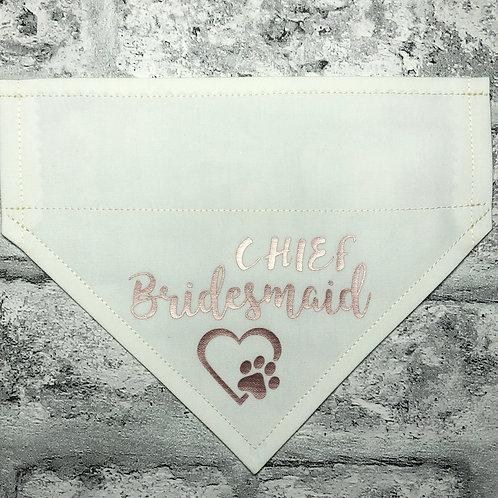 Chief Bridesmaid
