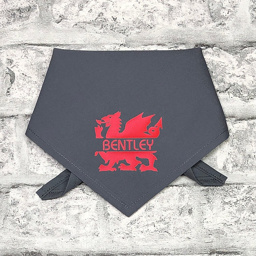 Personalised Welsh Dragon