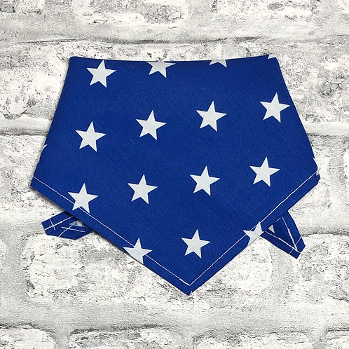 2cm Stars on Royal Blue