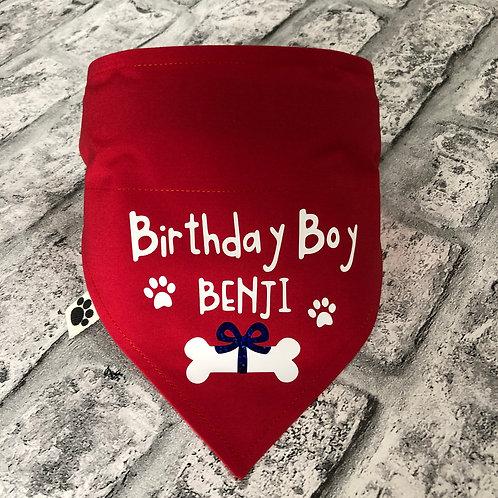 Personalised Birthday Boy