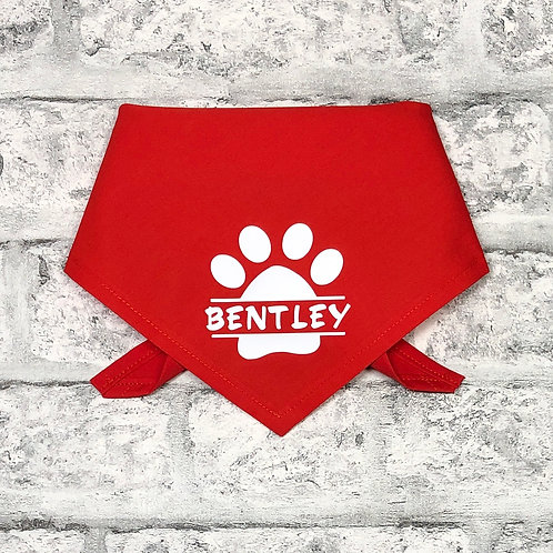 Personalised Paw Print