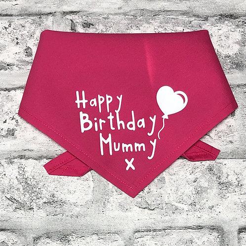 Happy Birthday Mummy Bandana