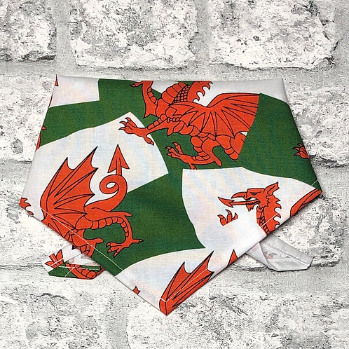 Welsh Flags Dog Bandana