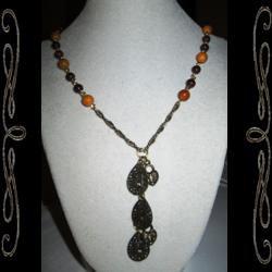 Woodland Music Necklace