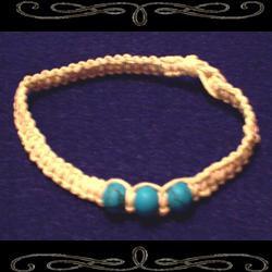 Triad Hemp Bracelet/Anklet