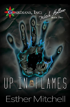 Up In Flames (Guardians, Inc: Witch Hollow, Book 2) Cover