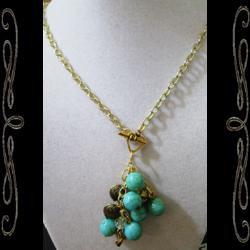 Milan Cluster Necklace