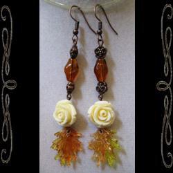 Amber Rose Earrings