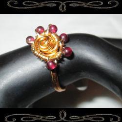 Star Spiral Ring