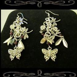 Chain of Evidence Earrings