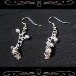 Chain of Bones Earrings