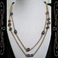 Splash Art Necklace