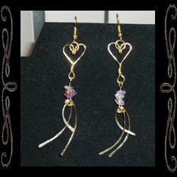 Angelic Heart Earrings