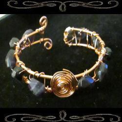 Bacchus' Spiral Cuff