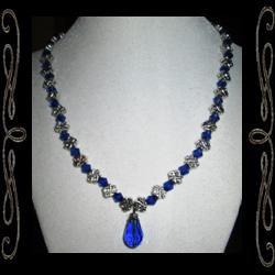 Celtic Blue Necklace