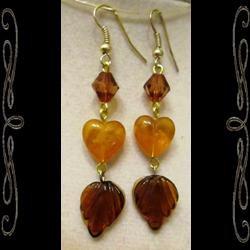 Heart of Autumn Earrings