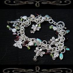 Chain of Evidence Charm Bracelet