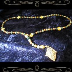 Celtic Forest Prayer Beads