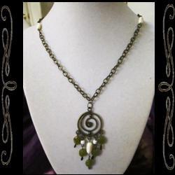 Dream Spiral Necklace