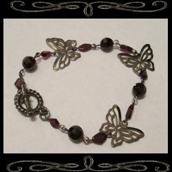 Gothic Faery Wings Bracelet