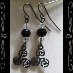 Dark Celt Earrings