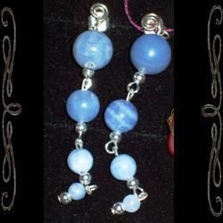 Four-Stone Cascade Earrings