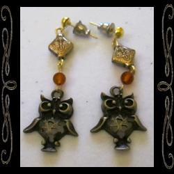 Merlin's Companion Earrings
