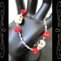 LA Santa Muerte Bones Bracelet