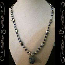 Heart of the Blues Necklace
