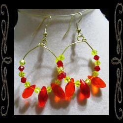 Fire Dancer Earrings