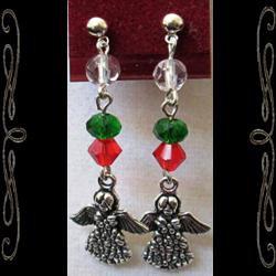 Christmas Angel Earrings