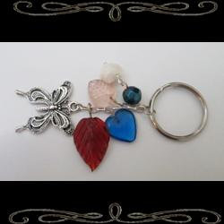 Butterfly Dreaming Keychain