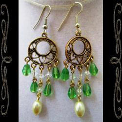 Irish Regency Earrings