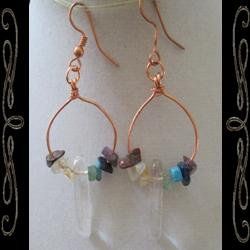 Chakra Point Earrings