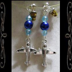 Wide Blue Yonder Earrings