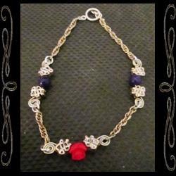 Spiral Rose Bracelet