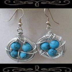 Robin's Nest Earrings