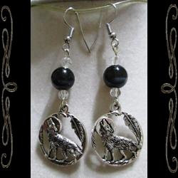 Wolf Song Earrings