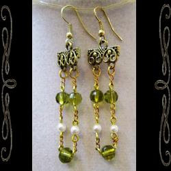 Gilded Age Earrings