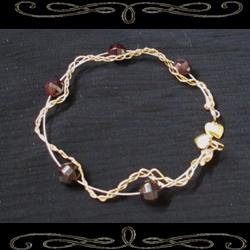 Grounded Heart Bangle