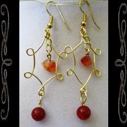 Lady of Fire Earrings